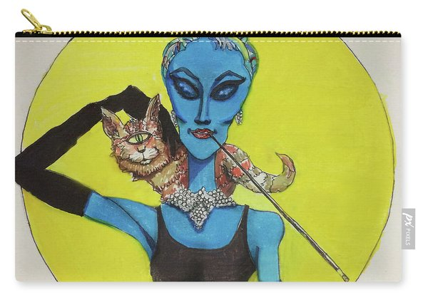 Alien At Tiffany's Carry-all Pouch
