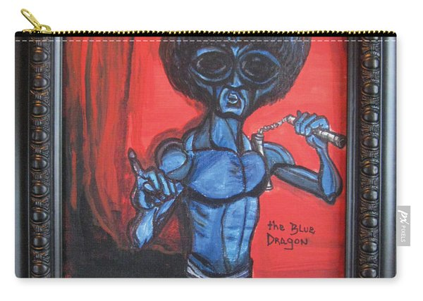 alien Bruce Lee Carry-all Pouch