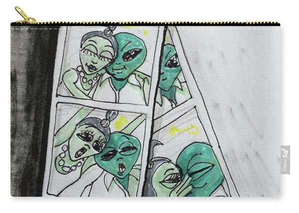 alien Photo Booth  Carry-all Pouch