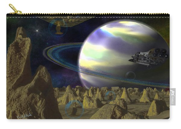 Alien Repose Carry-all Pouch