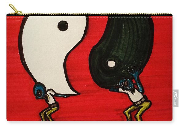 Alien Struggles To Find Balance Carry-all Pouch