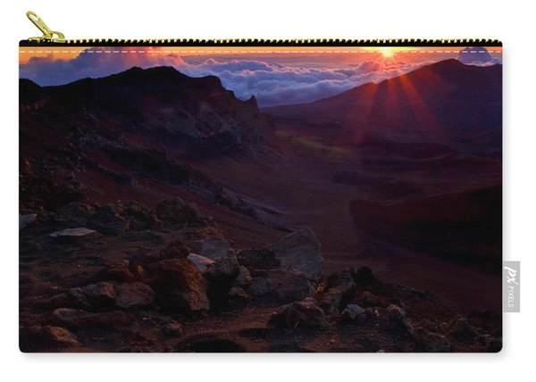 Alien Sunrise Carry-all Pouch