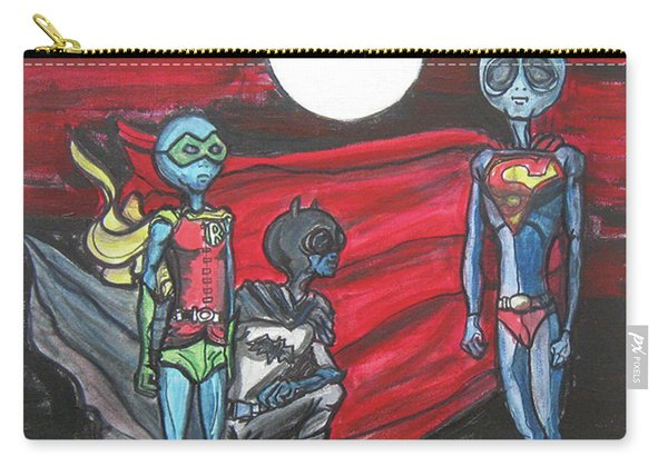 Alien Superheros Carry-all Pouch