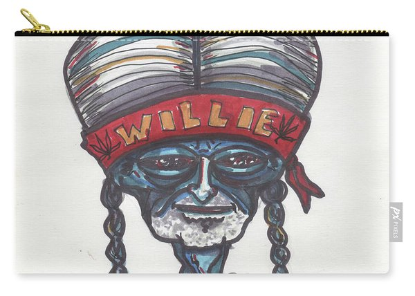 alien Willie Nelson Carry-all Pouch