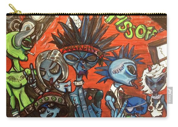 Aliens With Nefarious Intent Carry-all Pouch