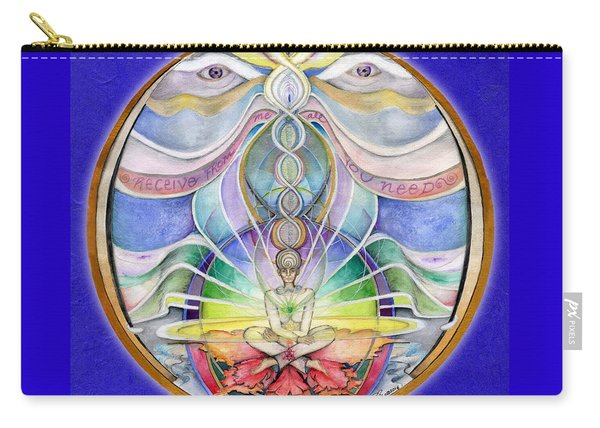 Alignment Mandala Carry-all Pouch