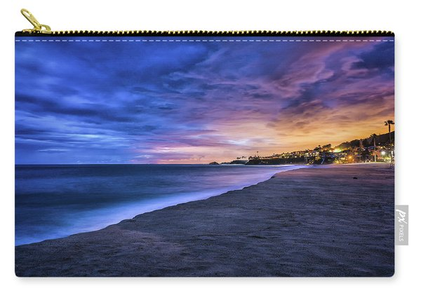 Aliso Beach Lights Carry-all Pouch