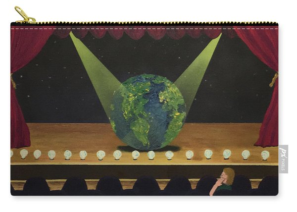 All The World's On Stage Carry-all Pouch