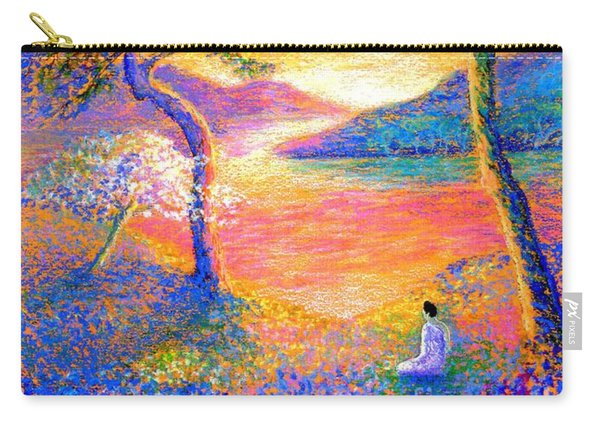 Buddha Meditation, All Things Bright And Beautiful Carry-all Pouch