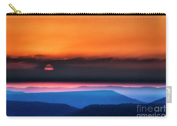 Allegheny Mountain Sunrise 2 Carry-all Pouch