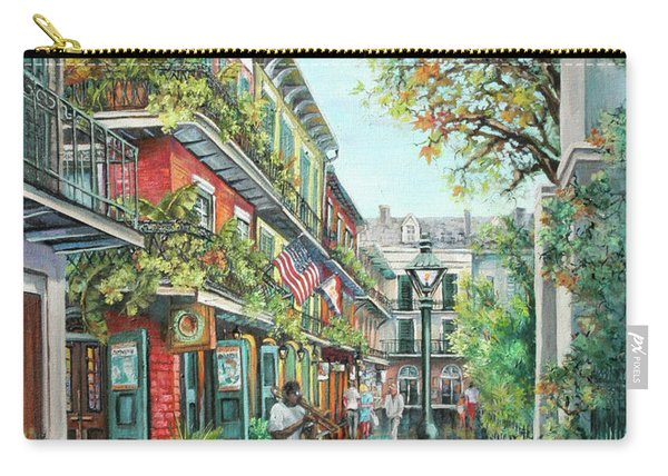 Alley Jazz Carry-all Pouch