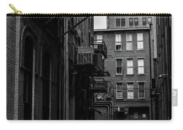 Carry-all Pouch featuring the photograph Alleyway I by Break The Silhouette