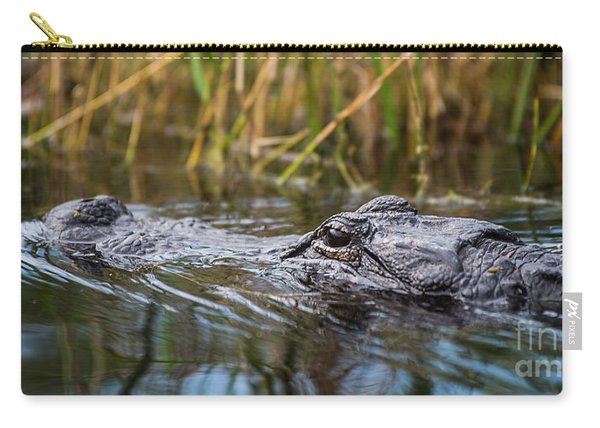 Alligator Closeup-2-0600 Carry-all Pouch