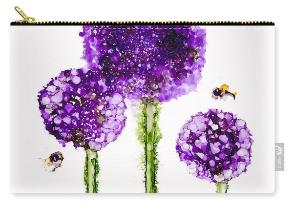 Alliums Humming Carry-all Pouch