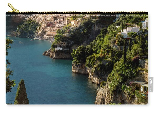 Carry-all Pouch featuring the photograph Almalfi Coast by Brian Jannsen