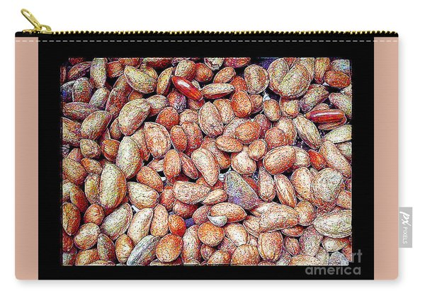 Almonds And Some Acorn Carry-all Pouch
