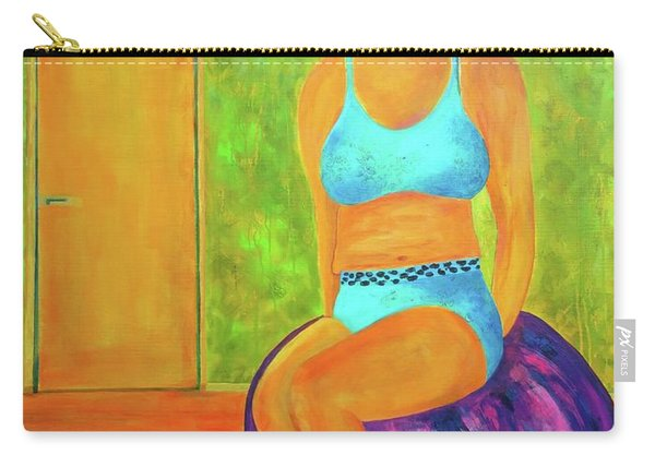 Art Something To Talk About Carry-all Pouch
