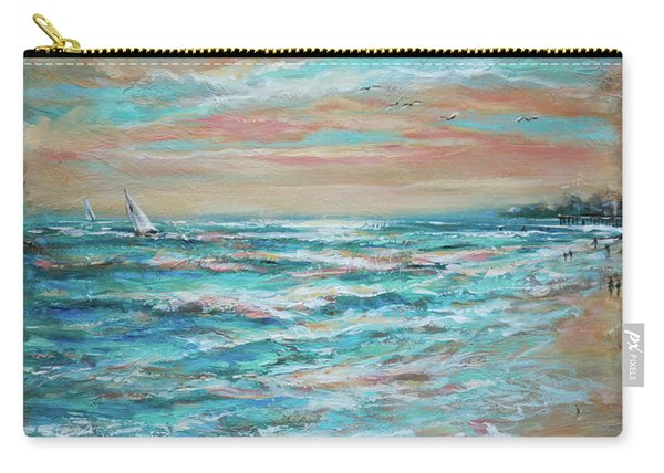 Along The Shore Carry-all Pouch