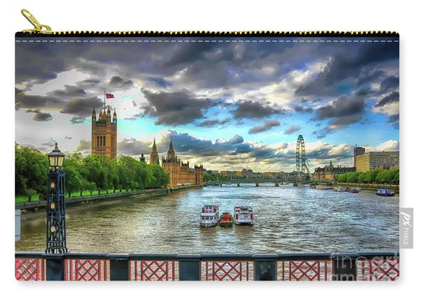 Along The Thames Carry-all Pouch