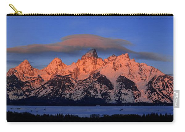 Alpenglow Tetons 2 Carry-all Pouch