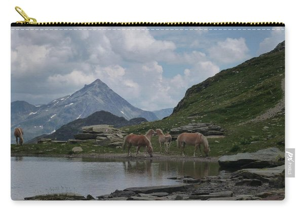 Alps' Horses Carry-all Pouch