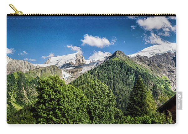 Alpine Chalet Carry-all Pouch