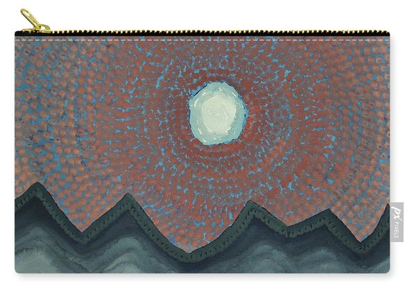Alpine Resonance Original Painting Carry-all Pouch