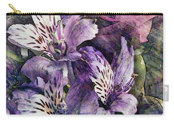 Alstroemeria Carry-all Pouch