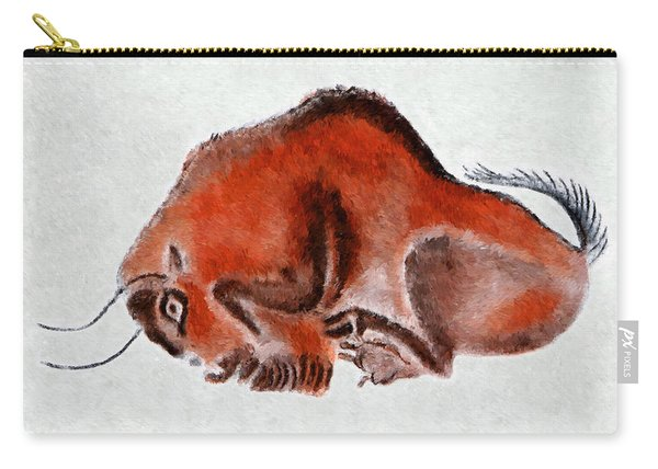 Altamira Prehistoric Bison At Rest Carry-all Pouch