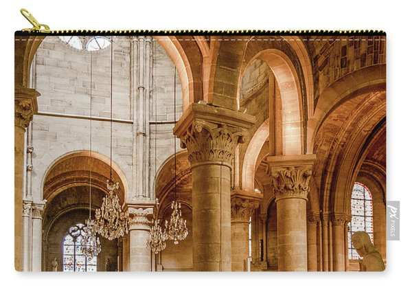 Poissy, France - Altar, Notre-dame De Poissy Carry-all Pouch