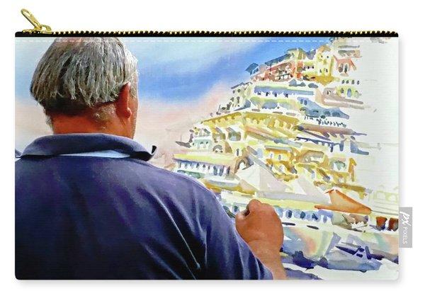 Amalfi Coast Street Artist - Positano, Italy Carry-all Pouch