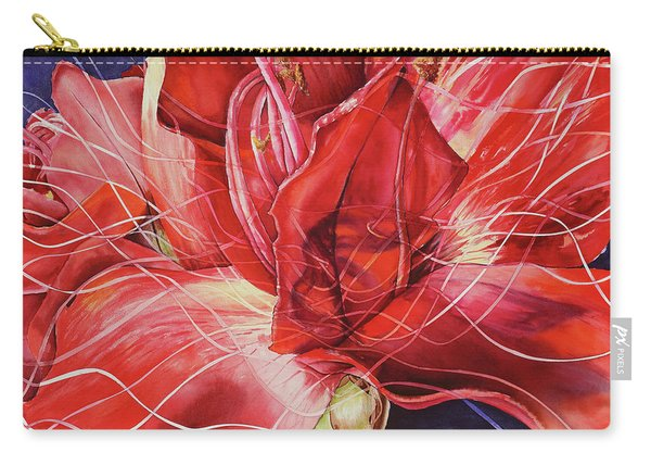 Amaryllis 1 Carry-all Pouch