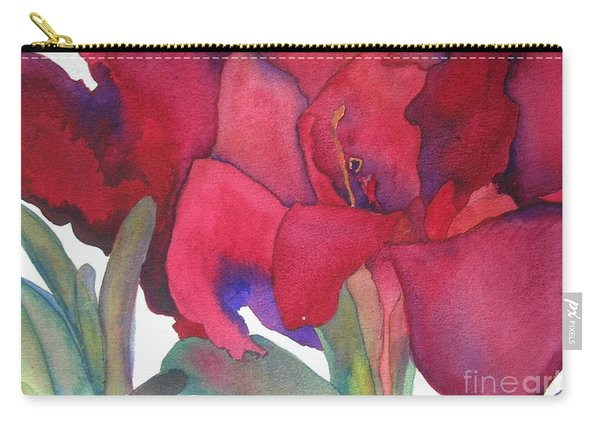 Amaryllis 3 Carry-all Pouch