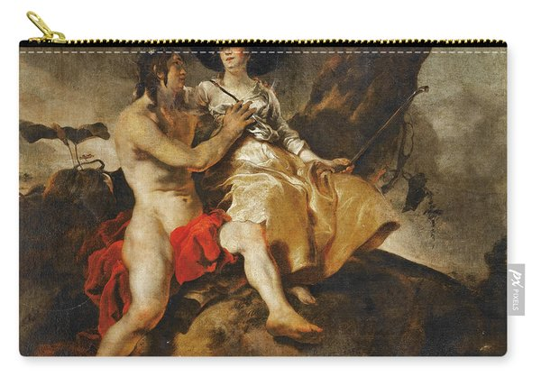 Amaryllis Crowning Mirtillo Carry-all Pouch