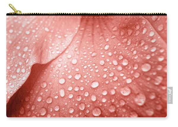 Amber Droplets Carry-all Pouch