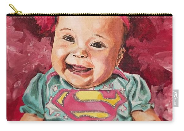 Carry-all Pouch featuring the painting Amelia by Joel Tesch