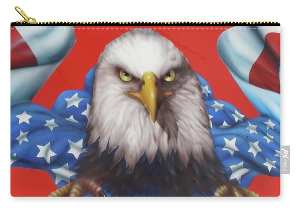 America Patriot  Carry-all Pouch