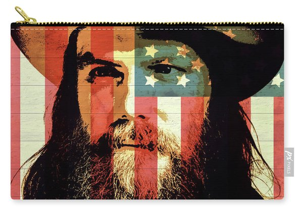 American Country Singer Chris Stapleton Carry-all Pouch