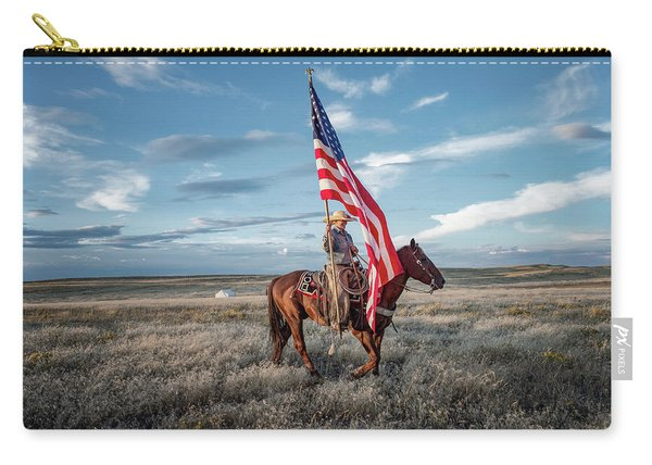 American Cowgirl Carry-all Pouch