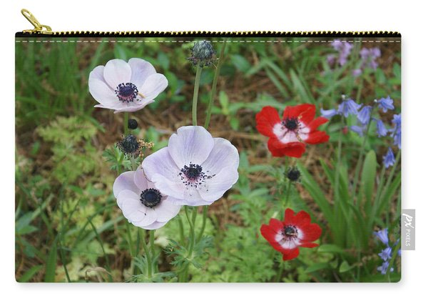 American Flowers Carry-all Pouch