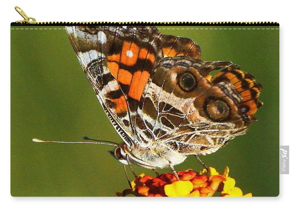 American Painted Lady Carry-all Pouch