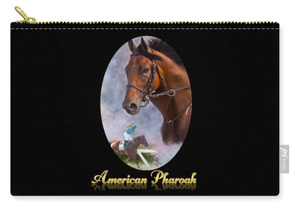American Pharoah Framed Carry-all Pouch