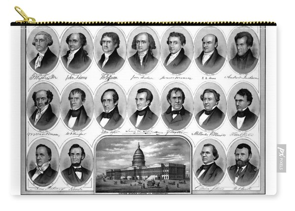 American Presidents First Hundred Years Carry-all Pouch