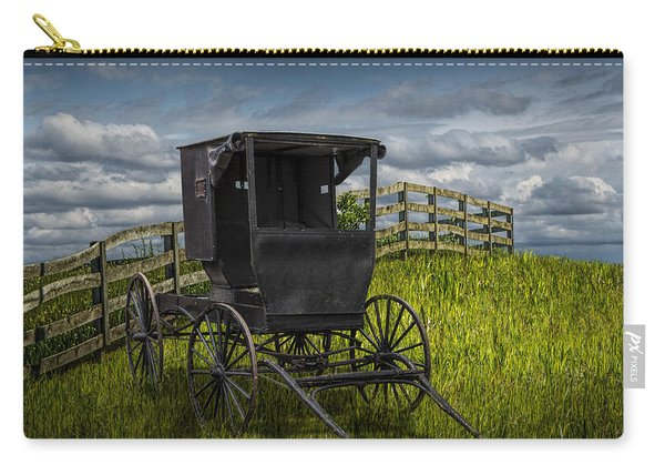 Amish Horse Buggy Carry-all Pouch