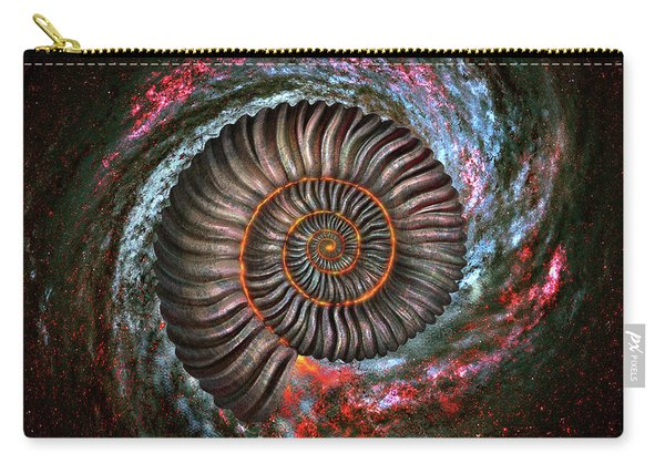 Ammonite Galaxy Carry-all Pouch