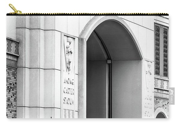 Amon Carter Stadium 110416 Bw Carry-all Pouch