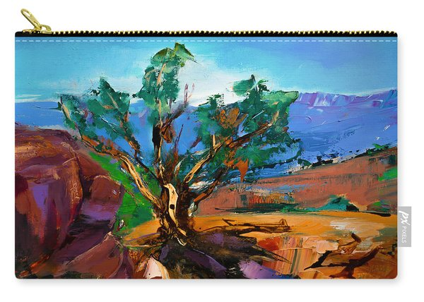 Among The Red Rocks - Sedona Carry-all Pouch