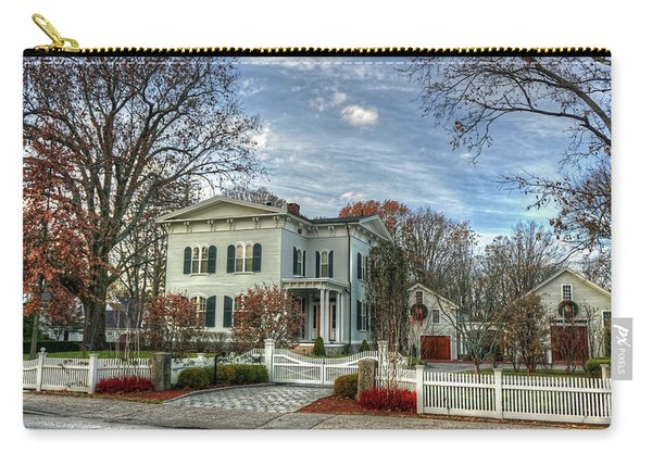 Amos Tuck House In Late Autumn Carry-all Pouch