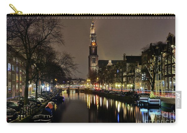 Amsterdam By Night - Prinsengracht Carry-all Pouch