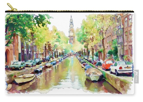 Amsterdam Canal 2 Carry-all Pouch